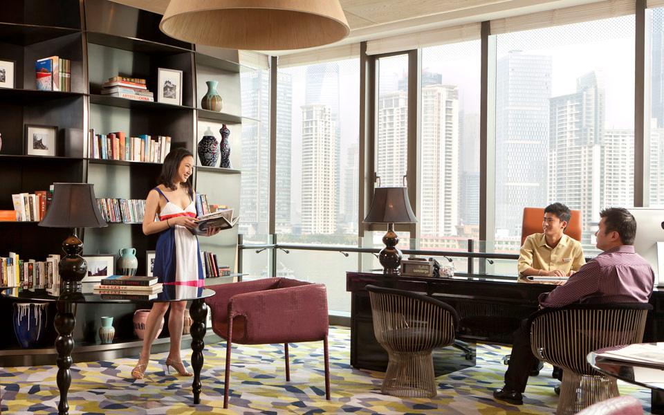 上海外滩英迪格酒店招商银行-出行易 酒店预订 酒店