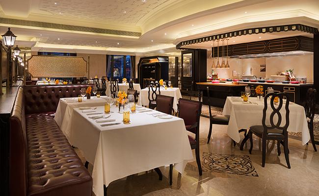 全日制餐厅,琅庐,供应不同自选菜式自助餐,让您尽情品尝海鲜刺身,色拉